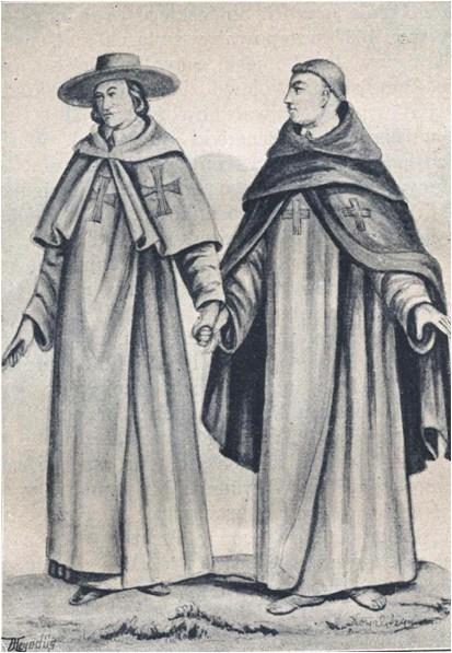 Монахи ордену тринітаріїв