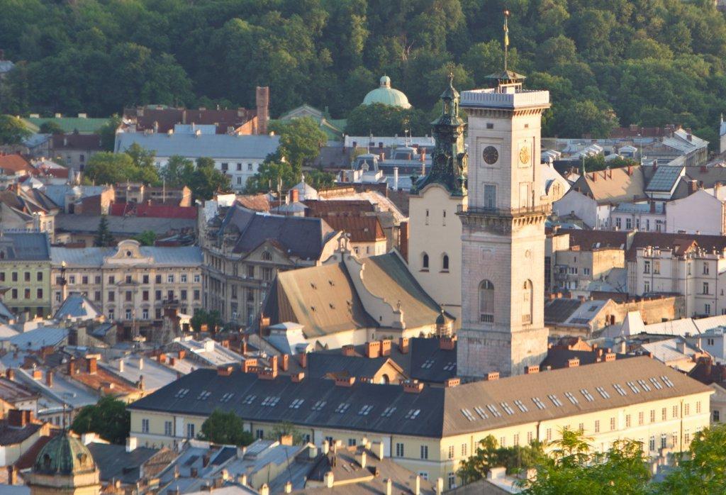 Оглядовий майданчик Львівської ратуші