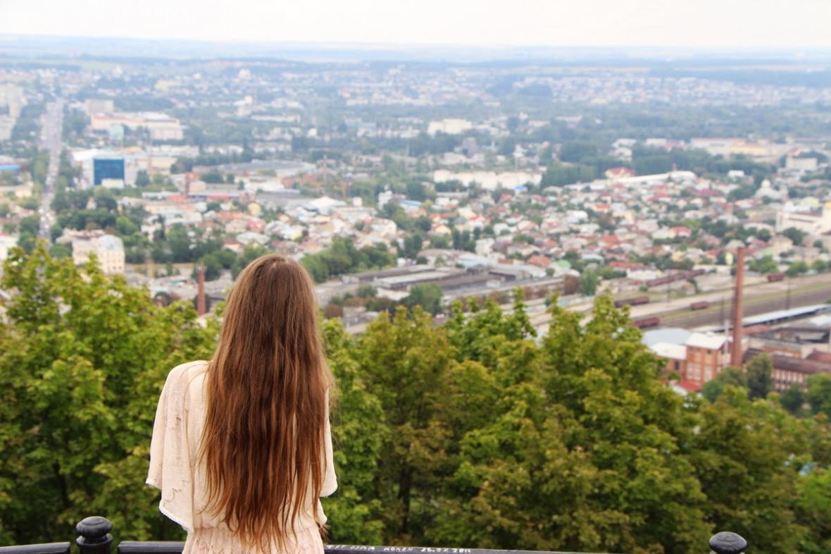 Оглядовий майданчик на «Високому замку»