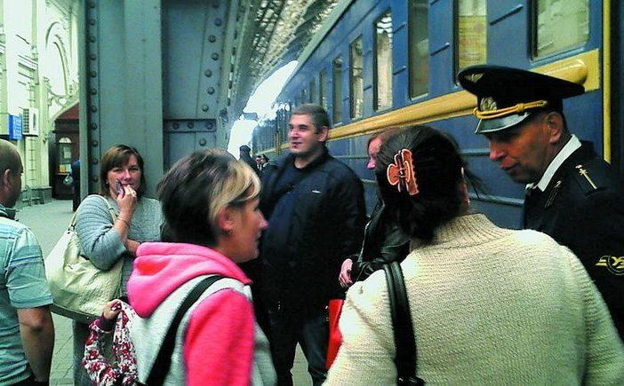 Приблизно половина пасажирів, які сідають у потяг «Львів- Москва», їдуть до Росії, а інші – до Тернополя, Києва, Вінниці. © wz.lviv.ua