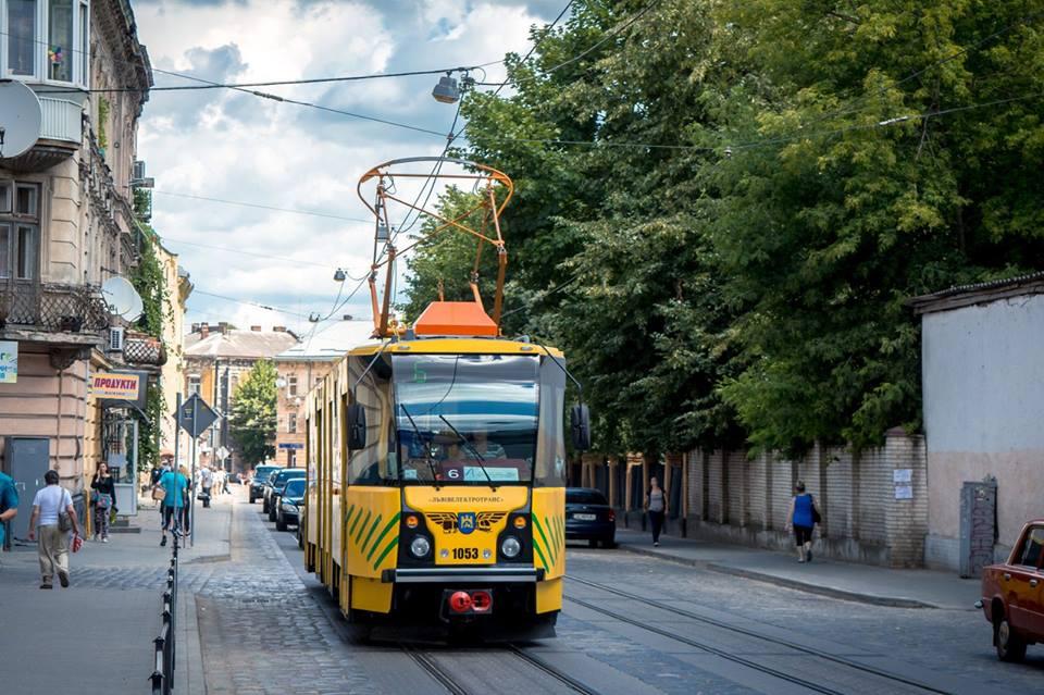 трамвай львів львівелектротранс