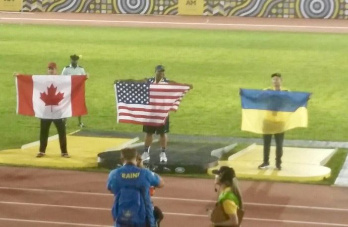 Україна завоювала першу медаль на Іграх нескорених-2017