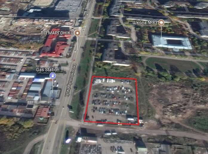 Земельна ділянка, де хочуть починати будівництво