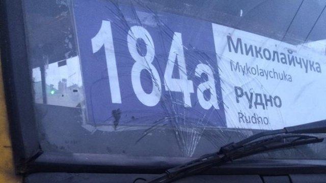 Водій приміської маршрутки №184А збив жінку на пішохідному переході