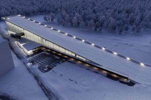 На Сихові побудують спорткомплекс із лижним спуском на даху