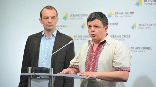 Семен Семенченко і Єгор Соболєв оголосили про блокаду бізнесу Петра Порошенка