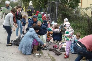 У Львові спалахнув дитячий садок – евакуювали 40 дітей