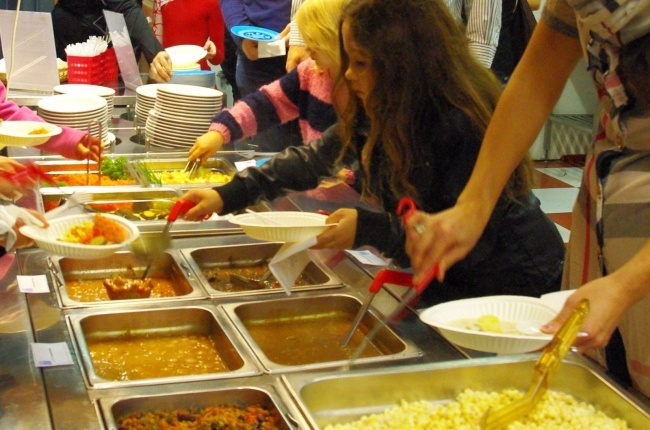 Учні самі вибирають, що їстимуть на обід
