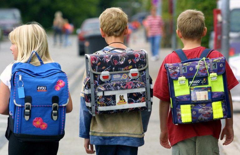 школярі школа рюкзак