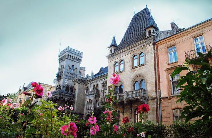 Замок на Чупринки © Julia Saprykina