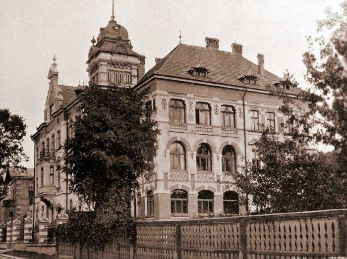 Давня вілла Віксля. Фото 1904 року