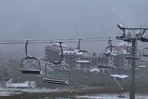 Карпати засипало першим снігом. ФОТО