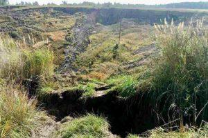 Внаслідок землетрусу на Львівщині утворилося провалля глибиною 50 метрів