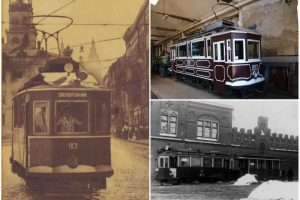 Трамваї, якими їздили наші дідусі