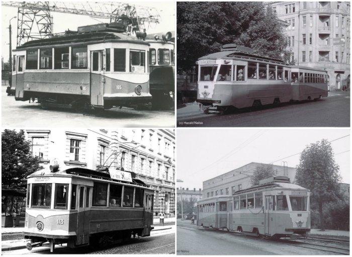 Трамвай Sanok SW-1 у Львові.