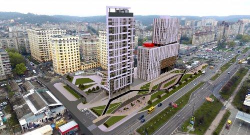 Візуалізація будівлі, яку планують звести на просп. Чорновола