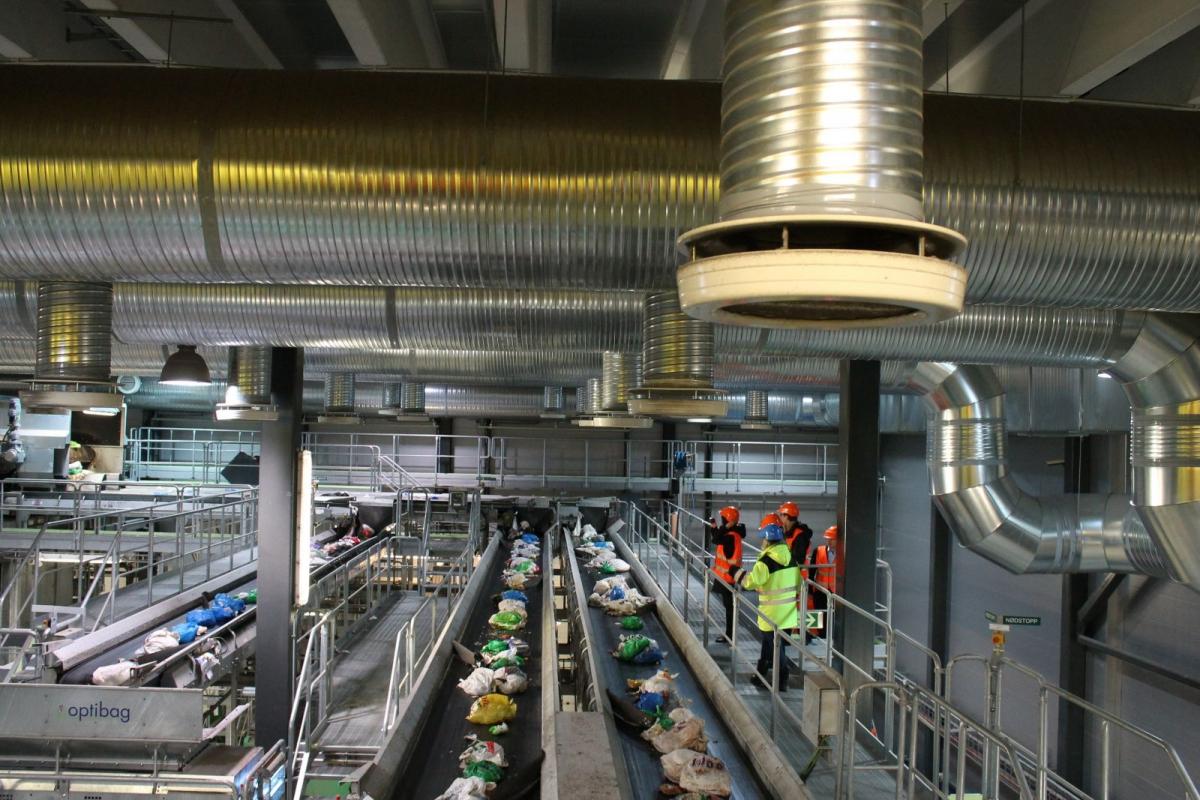 завод з переробки ТПВ