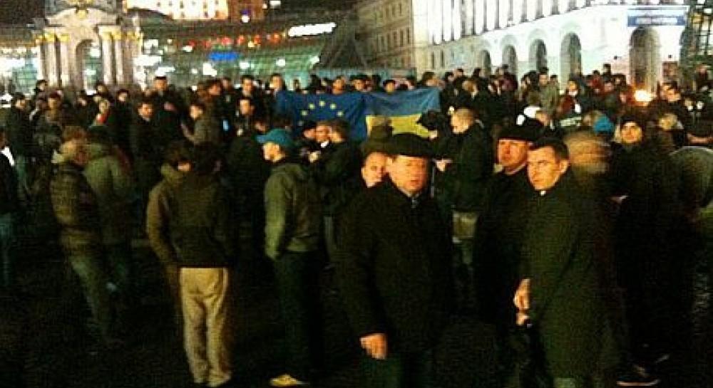 21 листопада, мітинг у Києві
