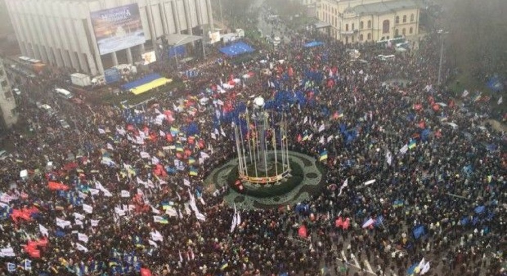 23 листопада, Євромайдан у Херсоні