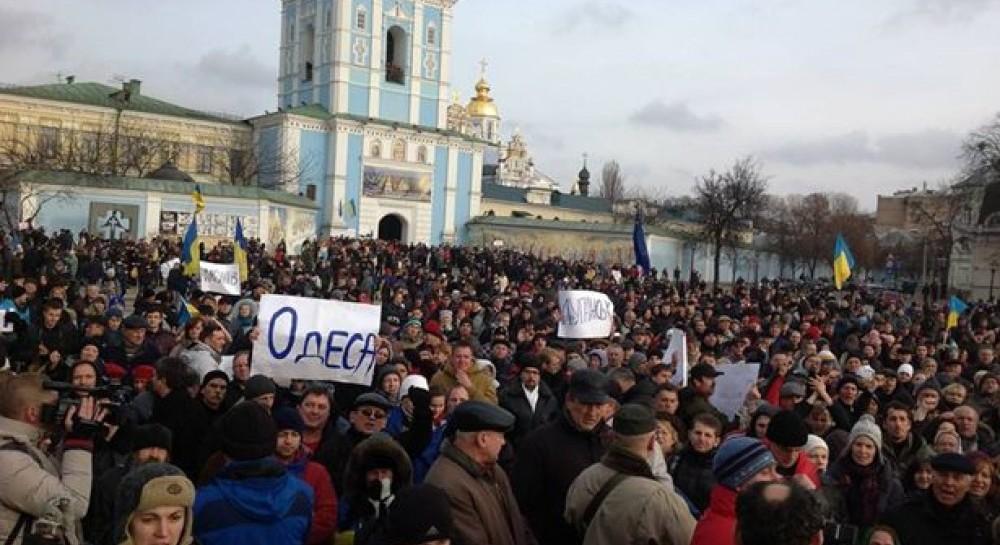 30 листопада, українці вийшли на вулиці після розгону Майдану