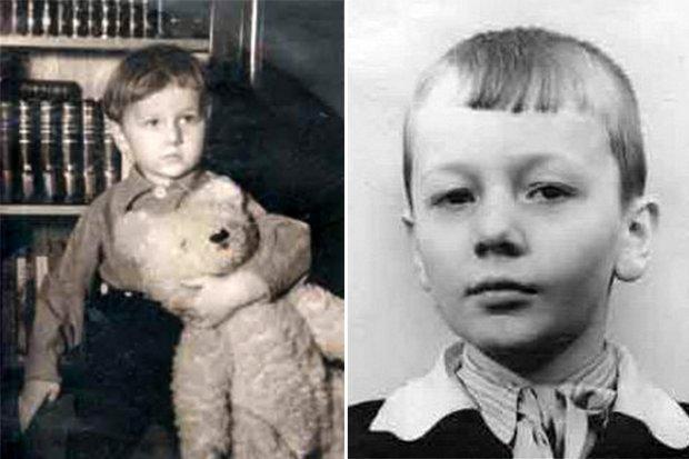 Михайло Задорнов в дитинтстві