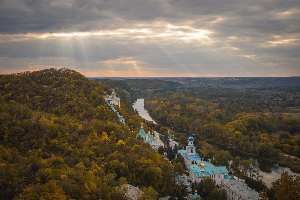 Святогірська лавра, Донецька область