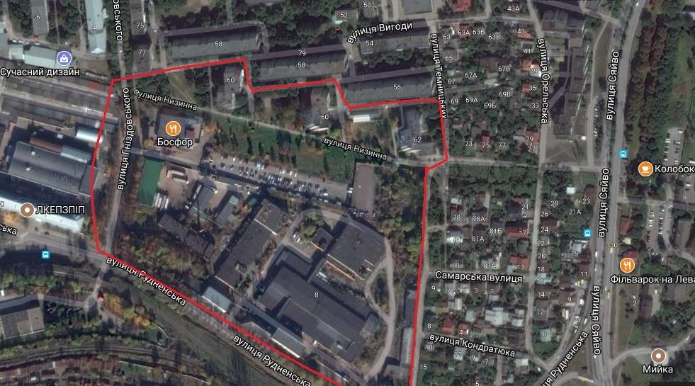 Земельна ділянка, де планують зводити будинки