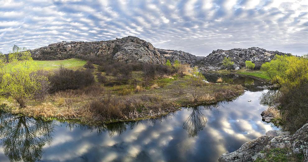 """Національний парк """"Бузький Гард"""", село Мигія, Миколаївська область"""
