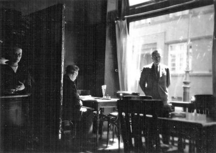 """Математик світової слави Стефан Банах у """"Шкотській"""". Фото 1930-х років-приватний архів сім'ї Герлінде Гранітцер"""