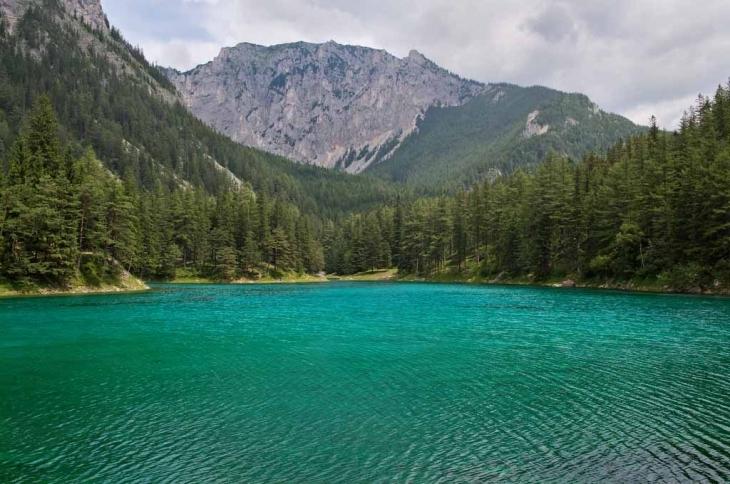 озеро Зелене, Австрія