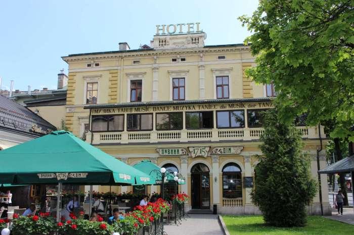 """Тераса """"Віденської"""" у наші дні. Фото 2015 року"""