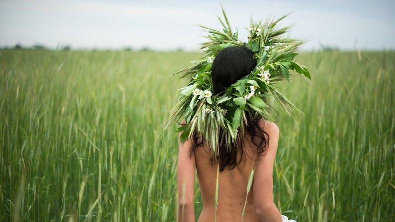 Краса української жінки у серії етно-фотографій