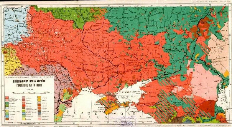 Етнографічна карта України