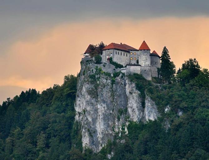 Бледський замок, Словенія.