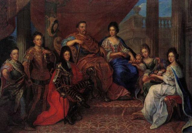 Король Ян III Cобеськийі Марисенька