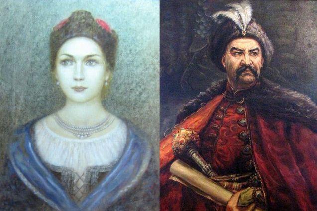 Богдан Хмельницький і Мотрона Чаплинська