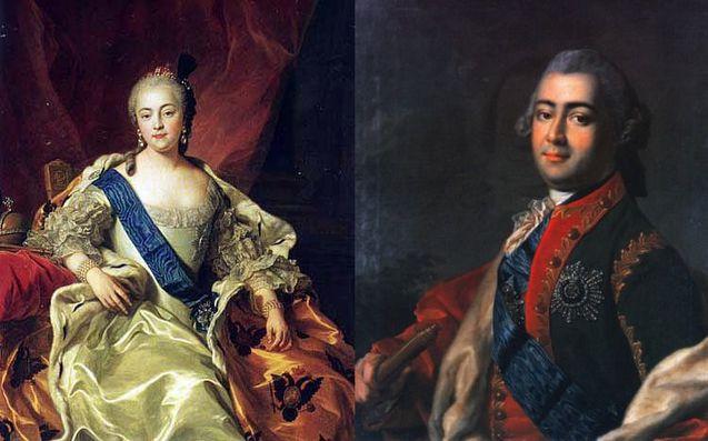 Олексій Розумовськийта імператриця Єлизавета Петрівна