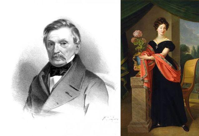 Софія Яблоновська і граф Олександр Фредро