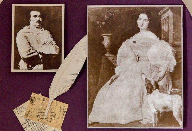Оноре де Бальзак і Евеліна Ганська