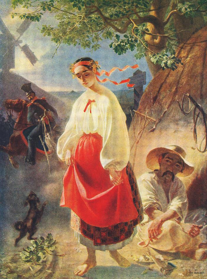 """""""Катерина"""", Тарас Шевченко, 1842 рік"""