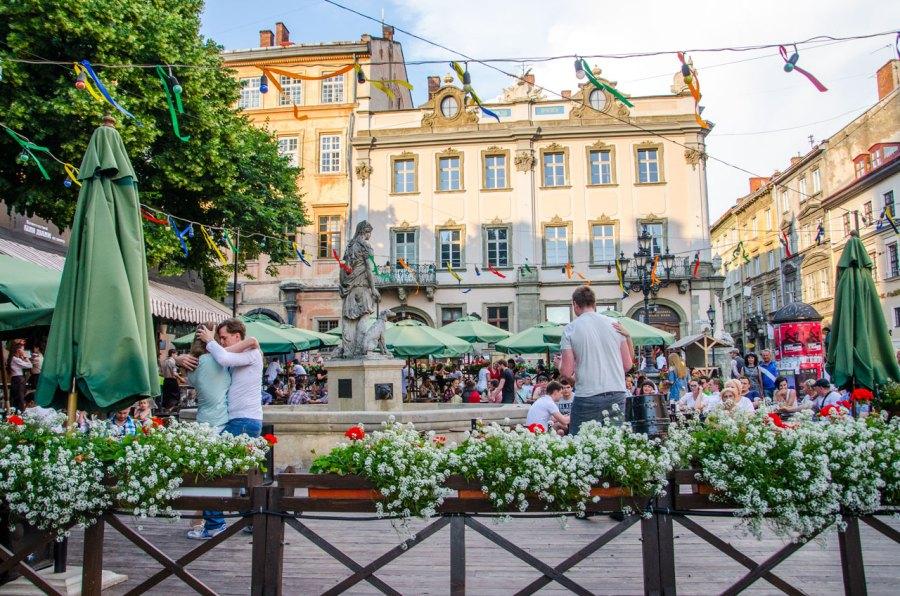 Площа Ринок © Фотографії старого Львова