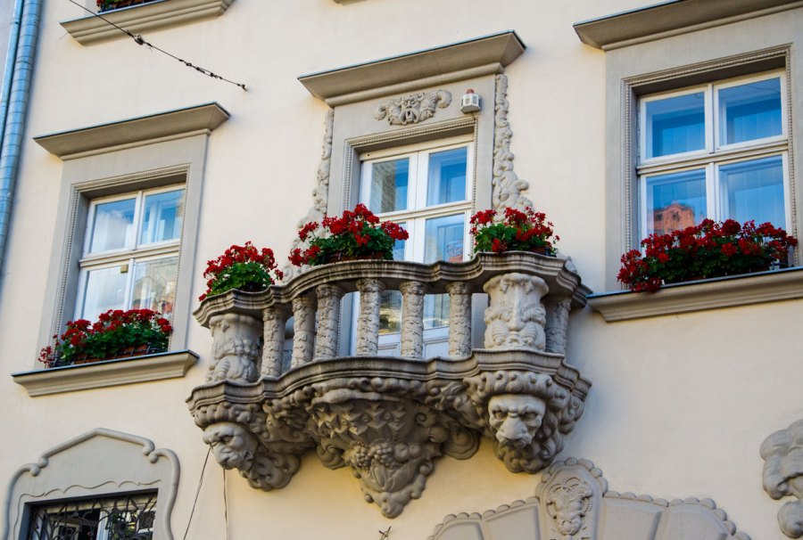Балкон закоханих © Фотографії старого Львова