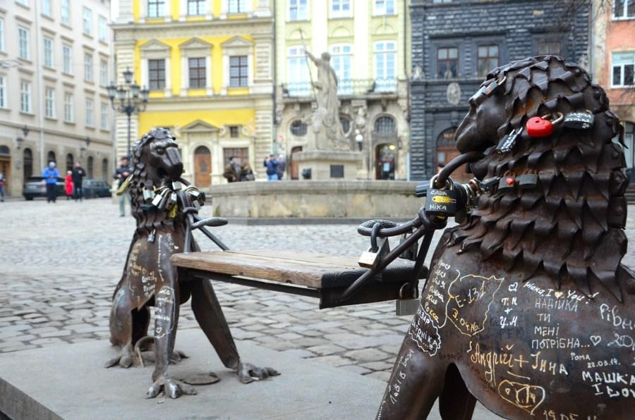 Лавка для закоханих © Фотографії старого Львова