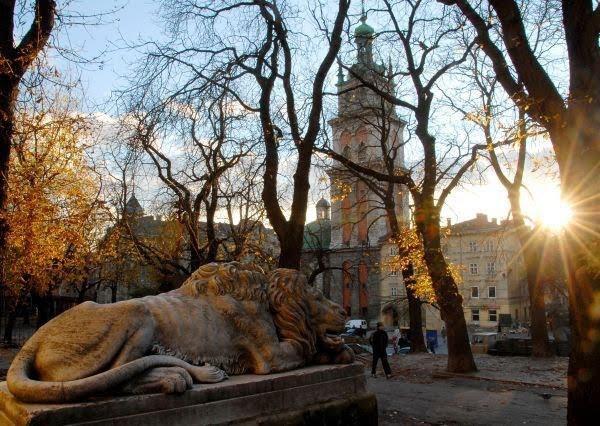 осінь львів лев