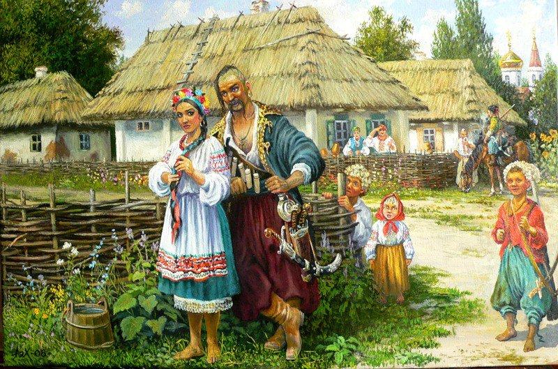 україна село картина