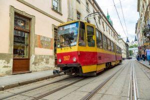 На вихідні у Львові не їздитимуть трамваї за трьома маршрутами