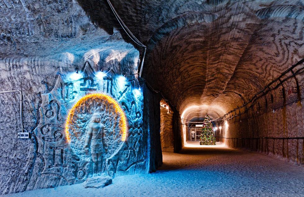 Соледарська соляна печера