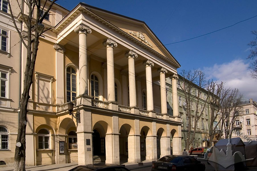 Театр ім. Марії Заньковецької львів