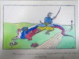 В архіві США виявили малюнок, присвячений відомому українцю