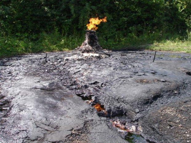 Єдиний діючий вулкан України Старуня